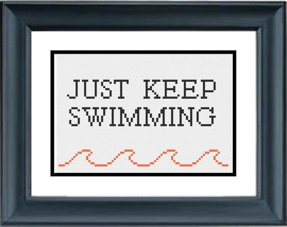 Just Keep Swimming Finding Nemo Disney Pixar Pdf