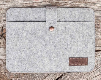"Surface Pro, 4, Laptop Book case sleeve felt ""Fachwerk"" suitable crafed for Microsoft Surface"