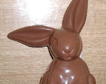 Big Ear Bunny,  Large 3D Assembly Chocolate Mold