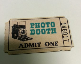 Photo Booth Tickets - Digital
