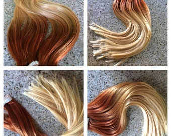Sale 5 star ombre balayage cuticle remy human hair sew in sale 5 star ombre cuticle remy human intense copperauburn ombre tape in pmusecretfo Choice Image