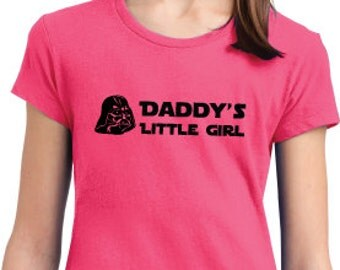 Daddy's Little Girl District T shirt - Darth Vader Star Wars
