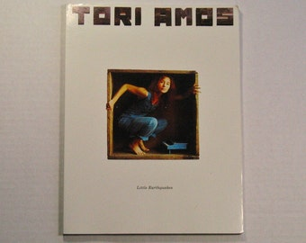1992 Tori Amos Little Earthquakes sheet music 90s piano song book vintage musician singer pianist