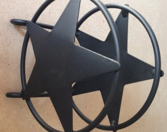 Amish Made Wrought Iron Star Napkin Holder