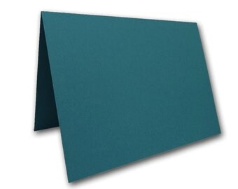 Teal Place Cards 25 pack