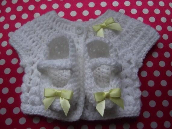 Handmade Crochet Baby Set