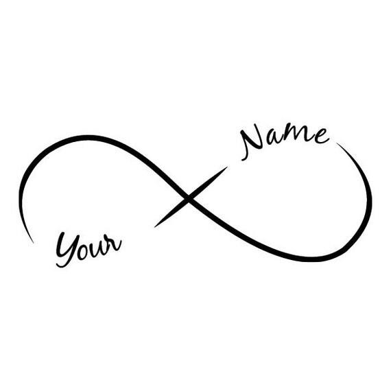 infini ajouter un nom de tatouage temporaire 2 noms par tattoofun