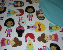 NeNee's Soft Blankies Supergirls