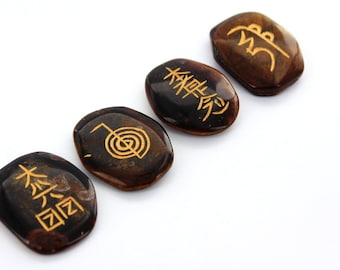 Tiger Eye Usui Reiki Set