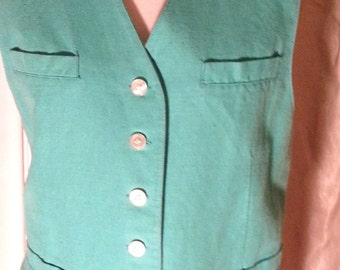 Lizport Tourquoise Vest