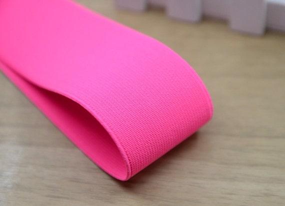 Wide Pink Elastic Bandsewing Elasticcolored Elastic 2 Inch