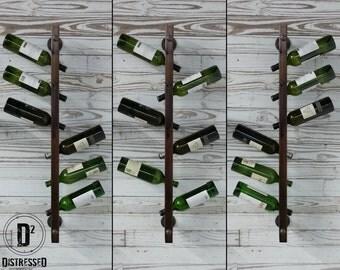 Wood Wine Rack - Double Sided