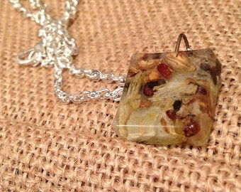 Brewlery: Hops and Barley Block Pendant