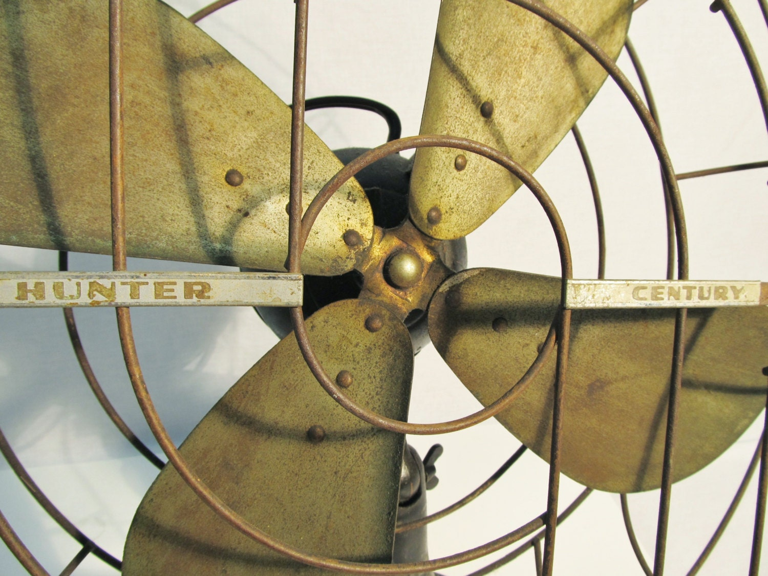 1930 S Hunter Century Electric Fan 3 Speed Oscillating