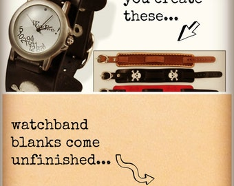 Leather Watchband or Wristband Kit