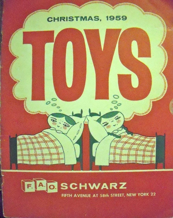 1959 F A O Schwarz Christmas Toy Catalog