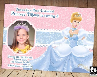Princess Cinderella Invitation