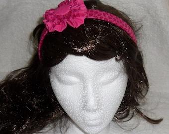 fabric covered headband