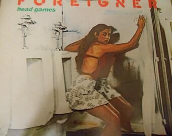 Foreigner- Head Games- vinyl record