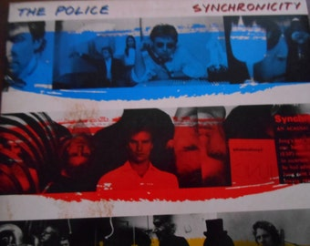 The Police Synchronicity- vinyl record