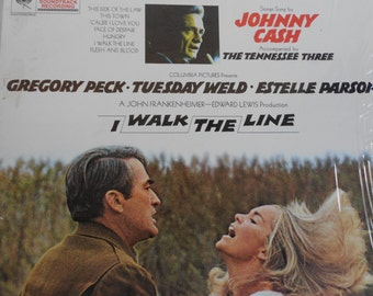 Johnny Cash - I Walk The Line Soundtrack- vinyl record