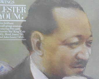 Lester Young - Lester Swings - vinyl record
