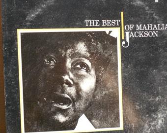 Mahalia Jackson Best of - vinyl record