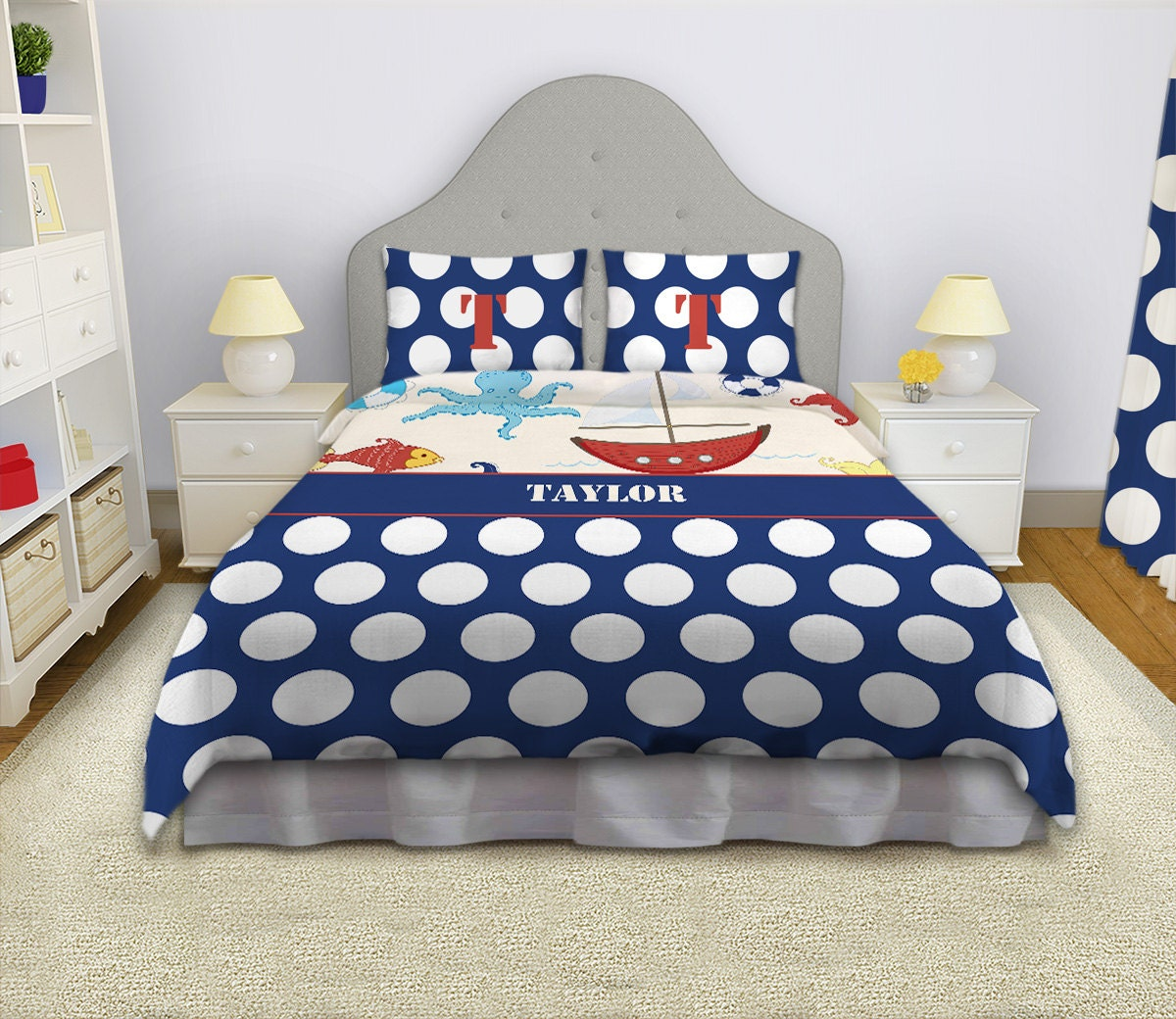 Nautical Themed Bedding Nautical Duvet Nautical Bedding