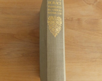The Complete Works of Horace-- Everyman's Library No 515