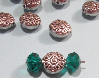 Tibetan Antique Silver Beads