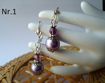 earrings with balls