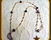 Autumn Moon Necklace