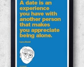 Larry David Curb Your Enthusiasm Poster