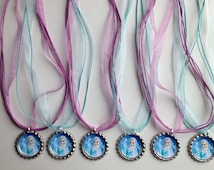 Frozen party favor necklaces..frozen  necklaces..party favors..necklace party favors..Elsa necklace..Elsa party favor..Anna party favor