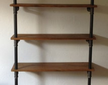 Gas Pipe Industrial Shelving Unit