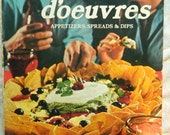 Vintage Hors D'oeuvers Cookbook From Sunset 1976