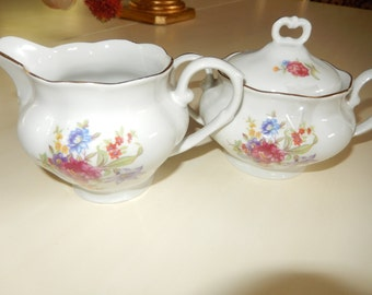 ENGLAND FAVOLINE CREAM and Sugar Set