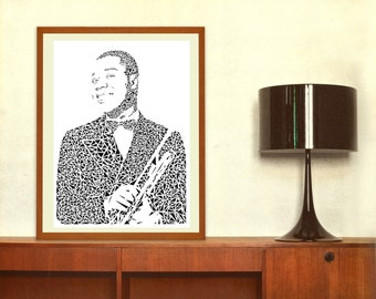 essay on louis armstrong Louis armstrong: what a wonderful world name course professor date of submission the jazz style of music is has distinctive melody as an accompaniment for a sol.