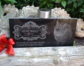 Engraved Granite 12 x 6, Personalized Pet Memorial, Headstone, Grave Marker, Burial Plaque