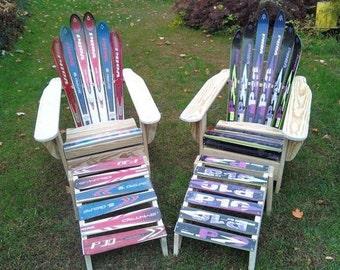 Adirondack Style Ski Chairs
