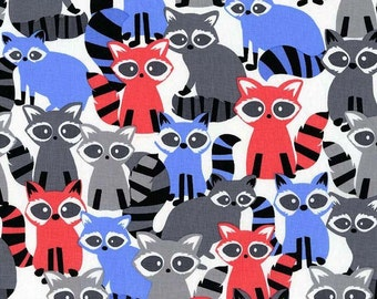Ricky Racoon, It's a Boy Thing, from Michael Miller Fabrics