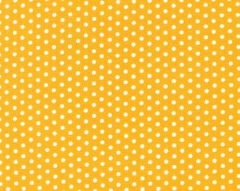 Yellow Tiny Dots, Spot On, from Robert Kaufman