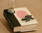 "Book Lamp for ""Great True Stories of Crime, Mystery & Detection"""