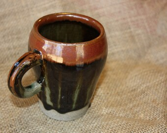 Bold Hand Thrown Mug