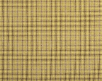 100% Cotton Checkered Pattern Fabric (EY20027-C)