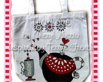 Tea Love painting email  Packet...Cheryl Nuccio,