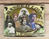 Blessed Love Queen Omega Rasta Badge/Button/Pin