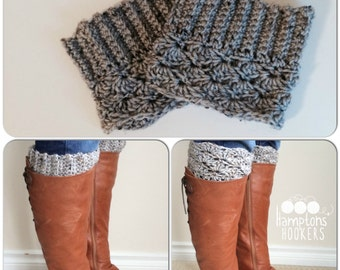 Reversible Boot Cuffs Pattern (crochet)