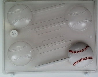 Medium-sized baseballs lollipop S051