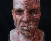 Half Face Zombie- silicone life like mask